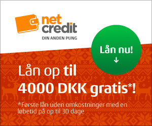 Få et gratis lån hos Netcredit
