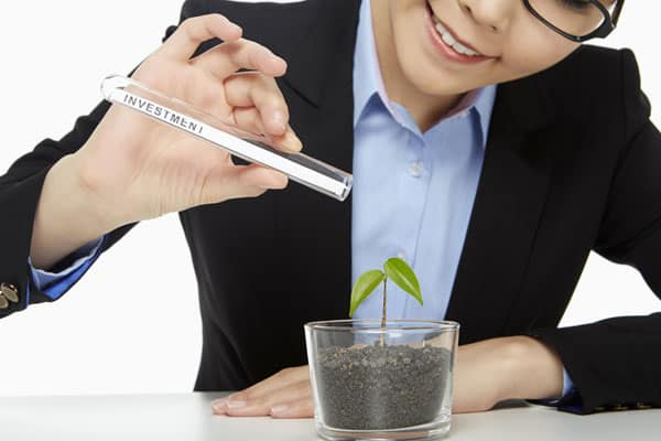 Invester langsigtet og se dine vokse langsomt med tiden.