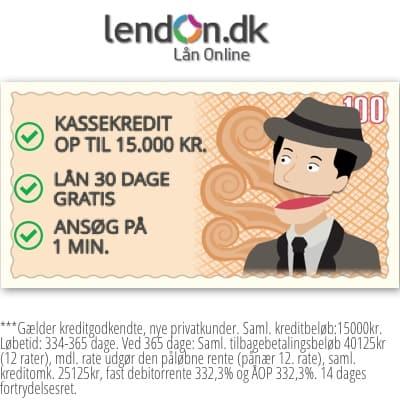 Hos LendOn kan du låne 6.000 kroner gratis