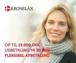 Lån op til 15.000 kr. hos Kronelån