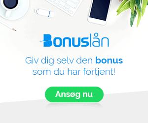 Giv dig selv den bonus som du har fortjent