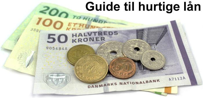 Guide til hurtige lån