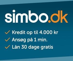 Lån 30 dage gratis hos Simbo
