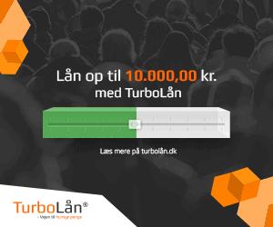 Lån op til 10.000 kr. med Turbolån